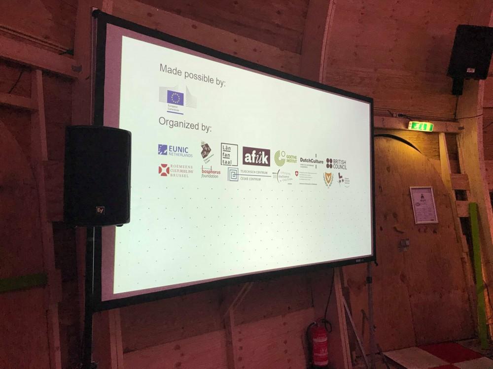 Partners of the European Literature Night in Leeuwarden.